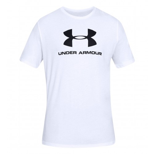UNDER ARMOUR SPORTSTYLE LOGO SS 1329590-100 ΛΕΥΚΟ
