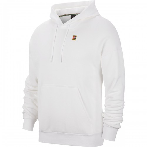 NIKE COURT MENS FLEECE TENNIS HOODIE BV0760-100 ΛΕΥΚΟ