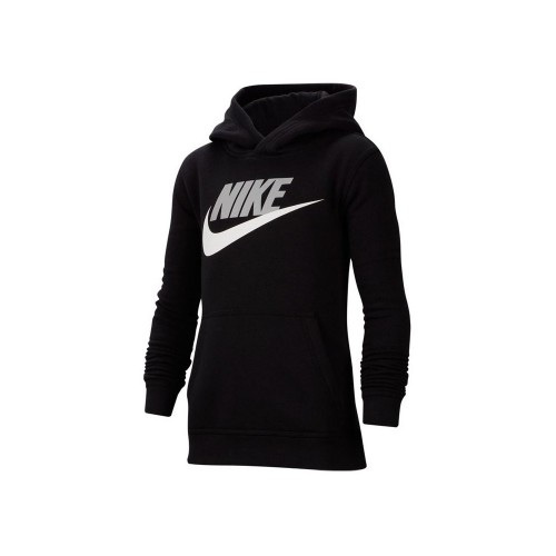 NIKE SPORTSWEAR JR BOYS CLUB FLEECE CJ7861-011 ΜΑΥΡΟ