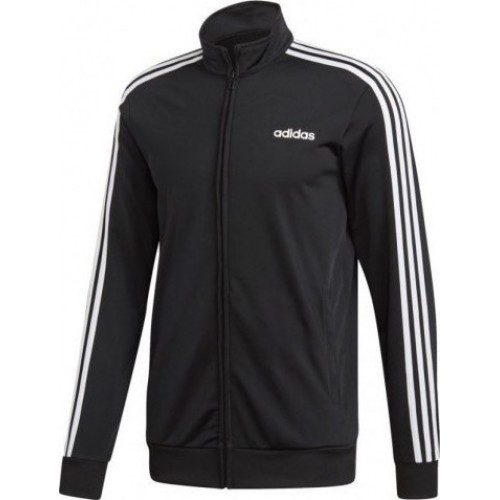 ADIDAS ESSENTIALS 3 STRIPES TRICOT TRACK TOP DQ3070 ΜΑΥΡΟ