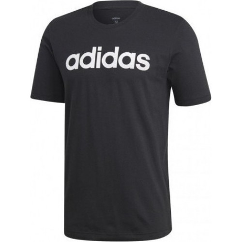 ADIDAS  INSPIRED ESSENTIALS LINEAR LOGO DU0404 ΜΑΥΡΟ