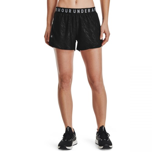 UNDER ARMOUR PLAY UP EMBOSS 3.0 SHORTS 1360943-001 ΜΑΥΡΟ